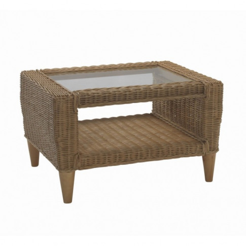 Desser Hudson Coffee Table & Clear Glass