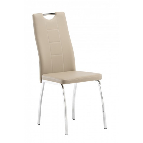 Isabella Stone Faux Leather Dining Chair