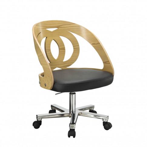 Jual Oak Office Chair Pc606