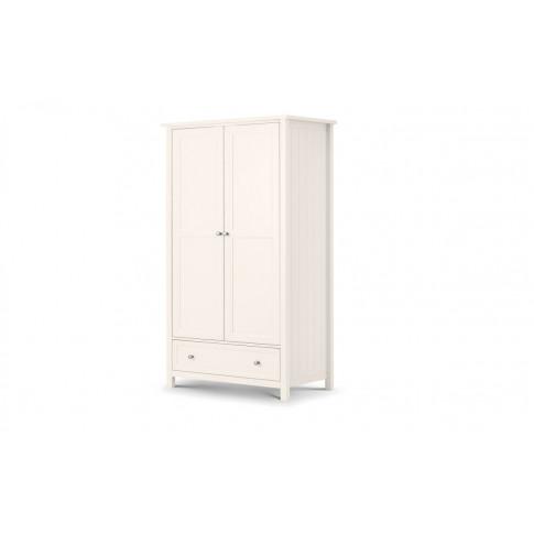 Julian Bowen Maine Surf White Pine 2 Door Combinatio...