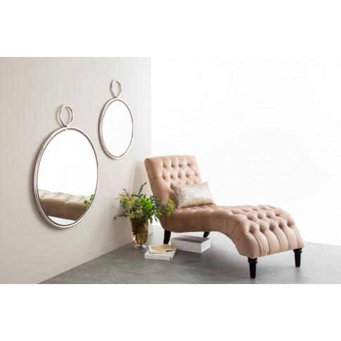 Kai Silver Large Mirror