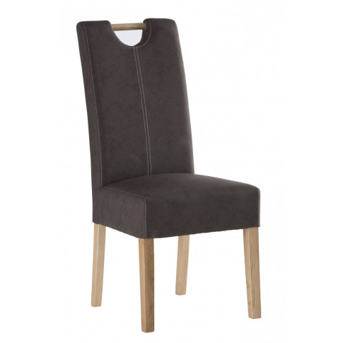Kensington Chocolate Leather Dining Chair