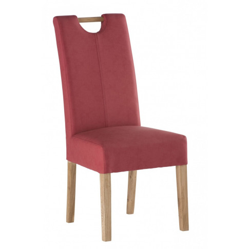 Kensington Soft Red Leather Dining Chair