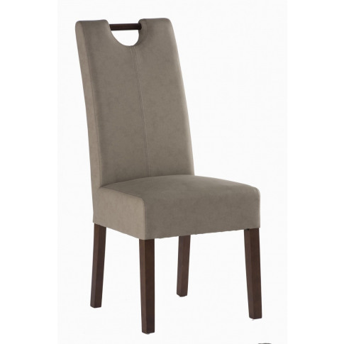 Kensington Mocha Leather (Dark Leg) Dining Chair