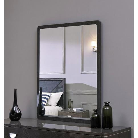 Emilia Grey High Gloss Mirror