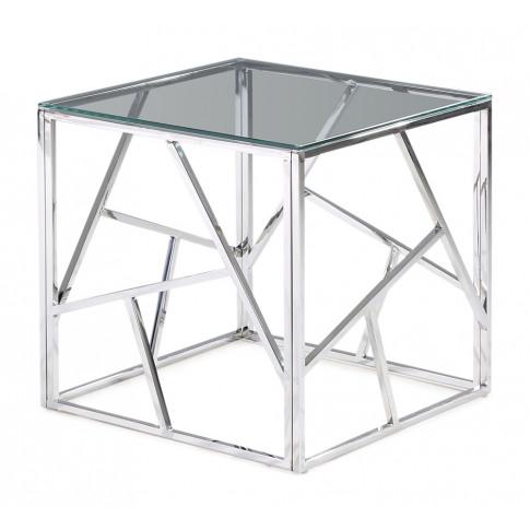 Fairmont Kieta Clear Glass Side Table