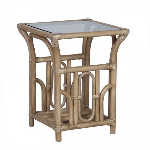 Cane Lana Side Table