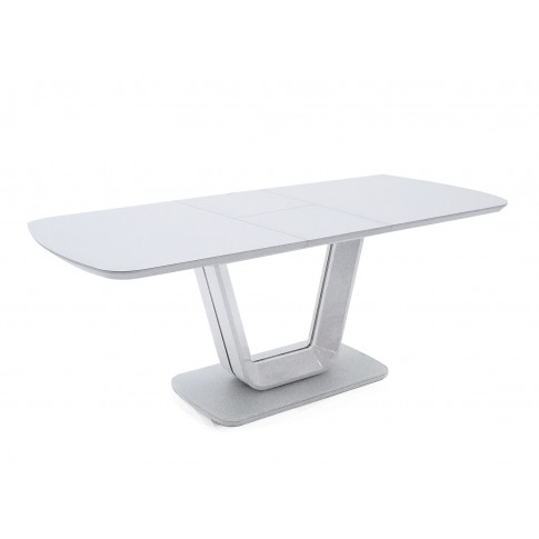 Lazzaro 160-200cm Ext. White High Gloss Dining Table