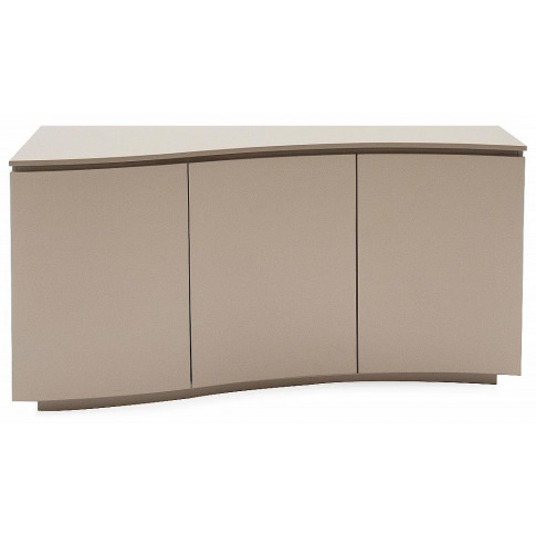 Lazzaro Cappuccino Matt Gloss Sideboard With Led