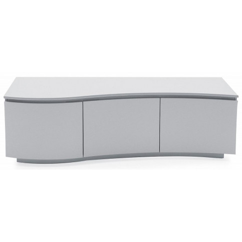 Lazzaro Light Grey Matt Tv Cabinet With Led