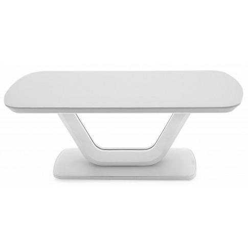 Lazzaro White High Gloss Coffee Table