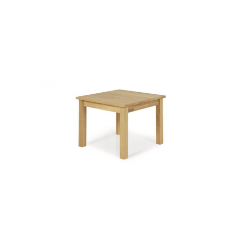 Serene Leyton Oak Lamp Table