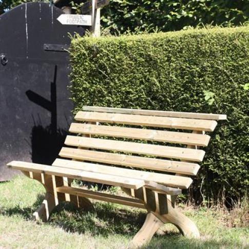 Boon Lily Garden Bench Pine - Fsc 100%