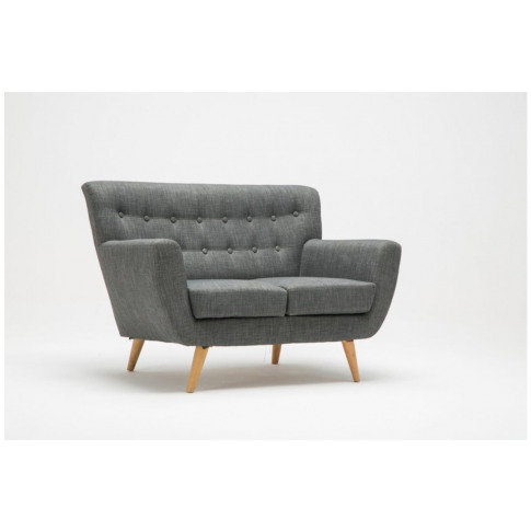 Birlea Loft 2 Seater Grey Fabric Sofa