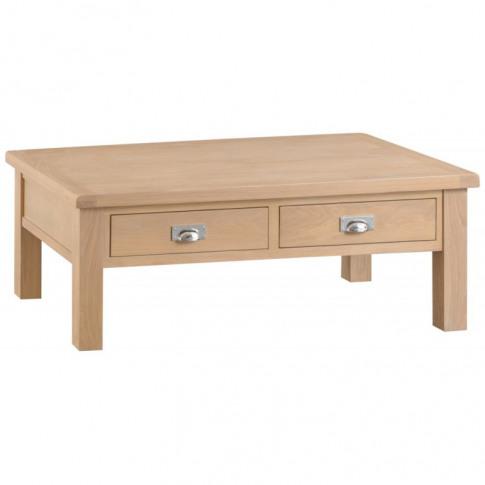 Lomo Oak Large Coffee Table