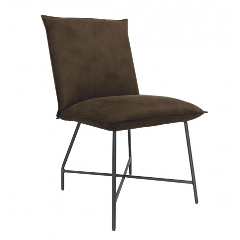 Lukas Brown Fabric Dining Chair