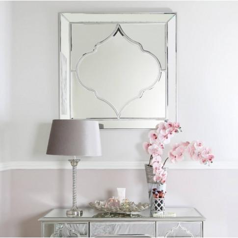 Madeira 100cm Wall Mirror