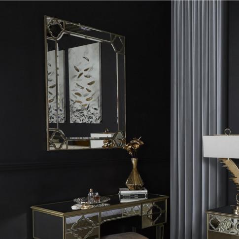 Madeira 90 X 120cm Rect. Wall Mirror