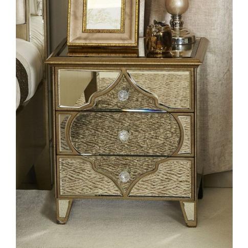 Madeira Mirror 3 Drawer Cabinet