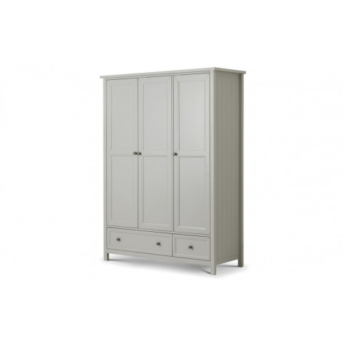 Julian Bowen Maine Dove Grey 3 Door Combination Ward...