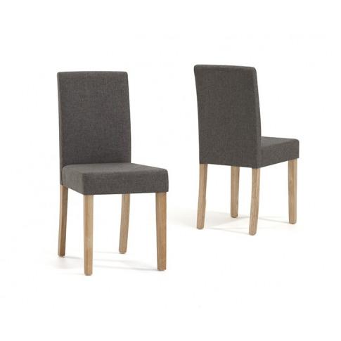 Maiya Brown Weave Fabric Dining Chair
