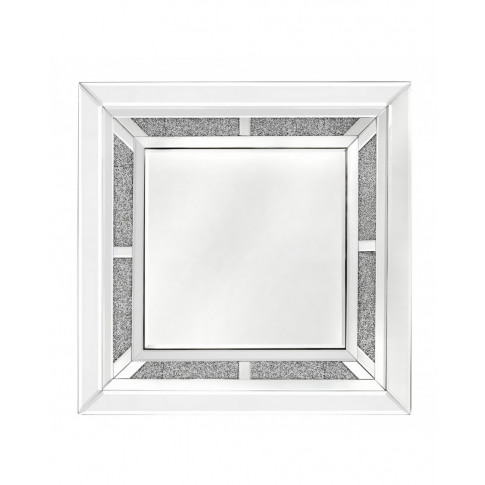 Massino Mirror And Crystal Wall Mirror