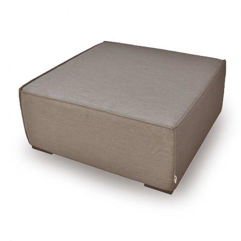 Maze Apollo Taupe Fabric Footstool