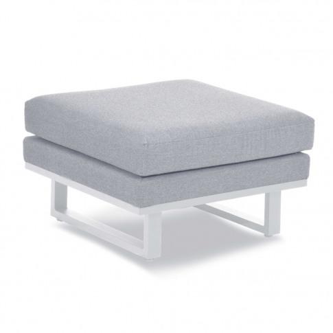 Maze Ethos Lead Chine Fabric Footstool