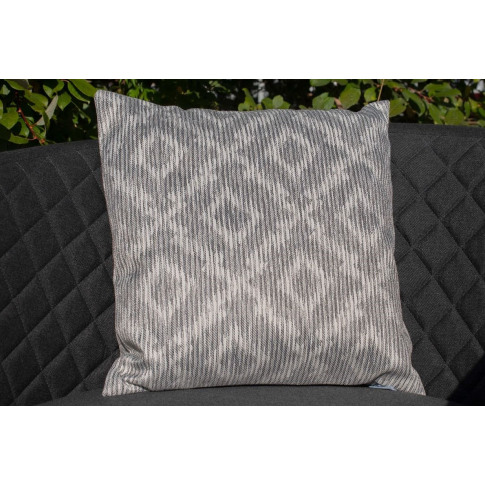 Maze Santorini Grey Fabric Scatter Cushion