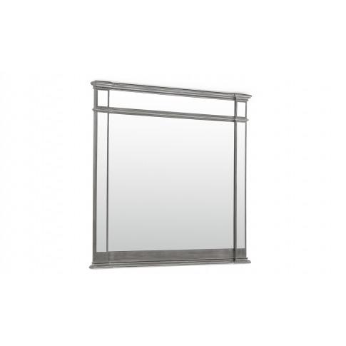 Ophelia Silver Wooden Mirror