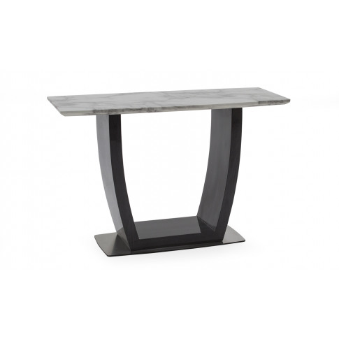 Luciana White Marble Console Table