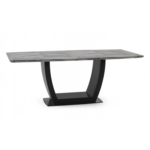 Luciana White 200cm Marble Dining Table
