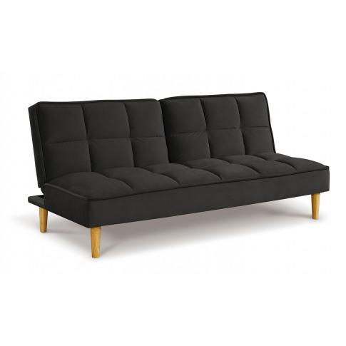 Lokken Dark Grey Velvet Sofa Bed