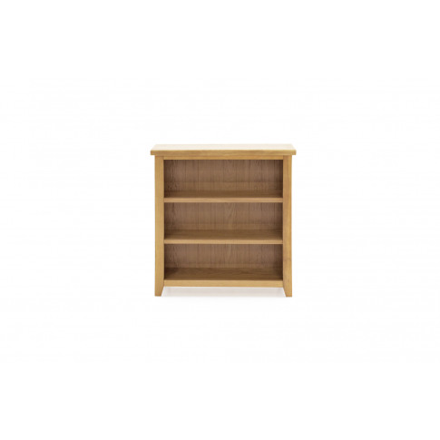 Ramore Oak Low Bookcase