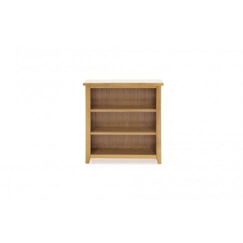 Ramore Oak Low Bookcase