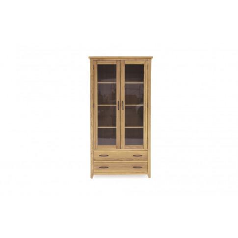 Ramore Oak Display Cabinet