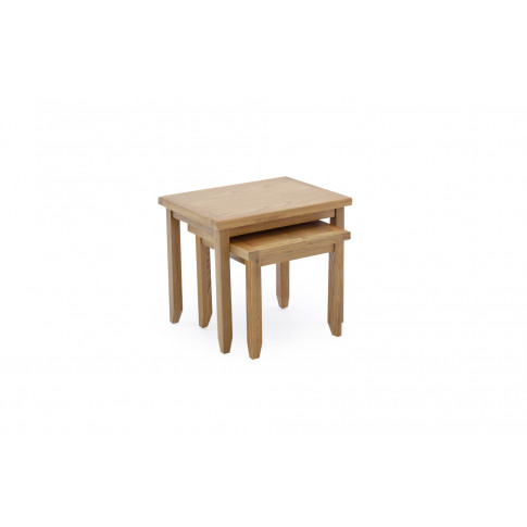 Ramore Oak Nest Of Tables