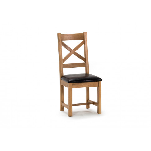 Ramore Oak Cross Back Dining Chair