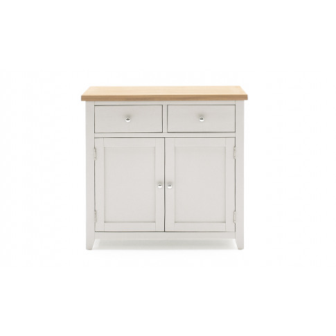Ferndale Grey Painted With Oak Small Sideboard