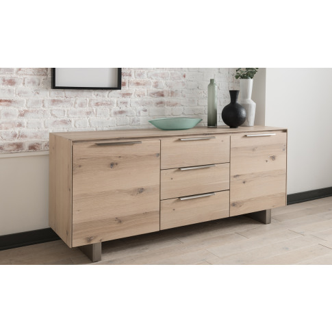 Bremen Natural Wooden Sideboard