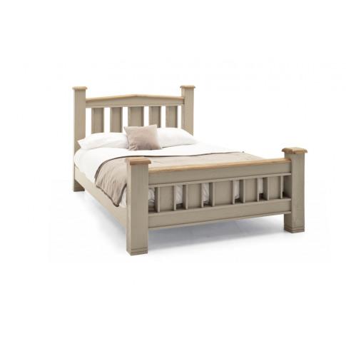 Logan Oak 6ft Super Kingsize Bed