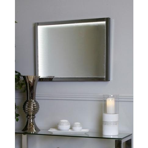 Medium Smoked Mirror Infinity Wall Light