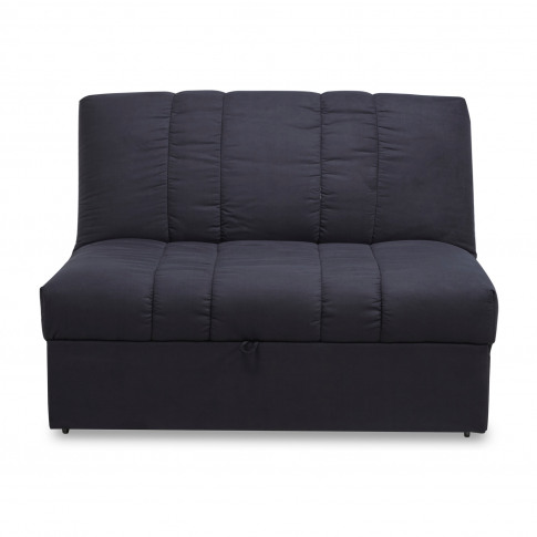 Midori Luxury Black Fabric Sofa Bed