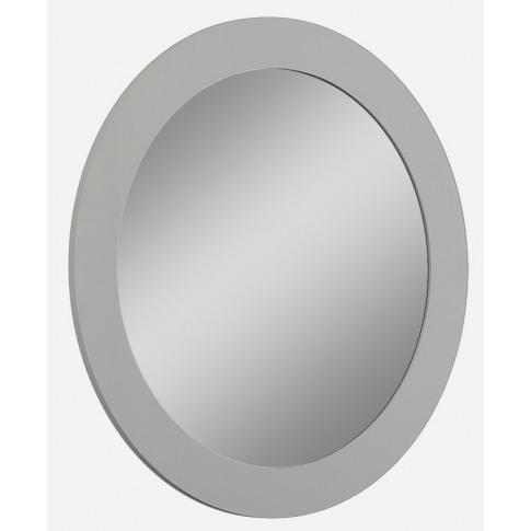 Mila Grey High Gloss Mirror