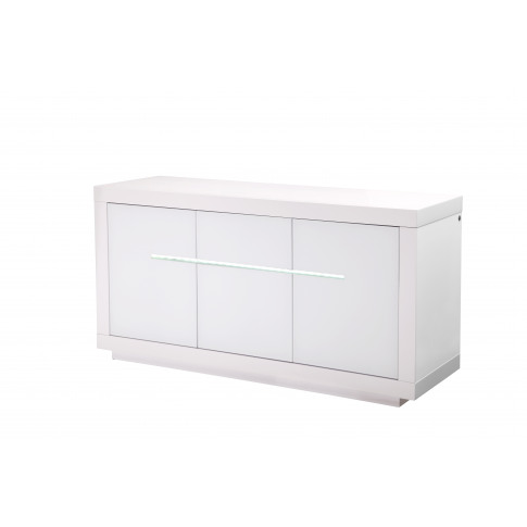 Fairmont Monte Carlo 3 Door High Gloss Sideboard Wit...
