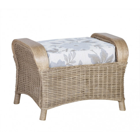Cane Monza Footstool With Storage