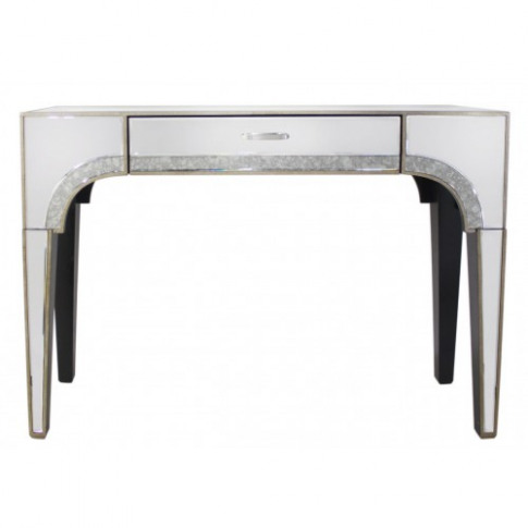 Gabi Vintage Glamour Mirror 1 Drawer Console Table