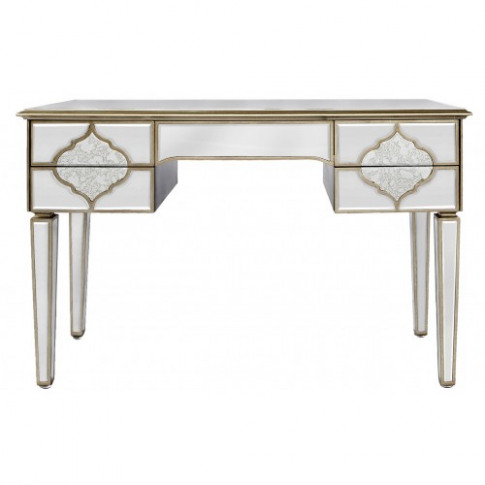 Madeira Mirror 5 Drawer Console Table