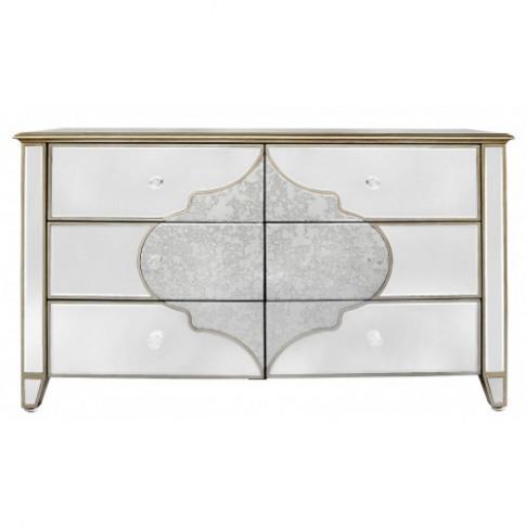 Madeira Mirror 6 Drawer Cabinet