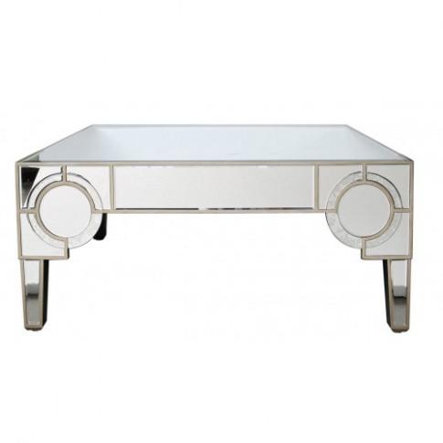 Gabi 2 Drawer Mirror Coffee Table